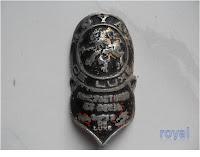 Emblem Sepeda Royal