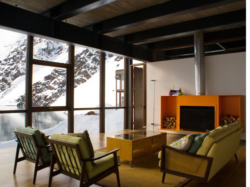 arquitectura arquidea casa minimalista refugio de monta a