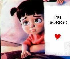 im sorry mum and dad
