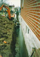 Exterior Excavation and Basement Waterproofing by Aquaseal 1-888-750-0848