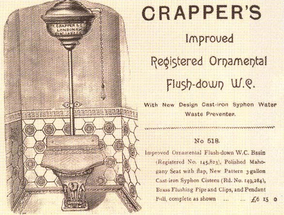 Tawdry Knickers: crapper