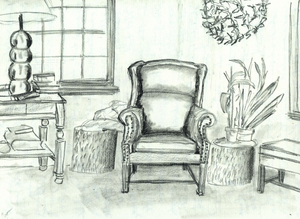 Drawing Room Corner Showpiece: InkTracks: April 2010