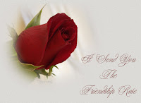 friendship rose greetings