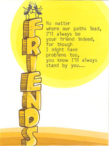 Friendship Cards: November 2008