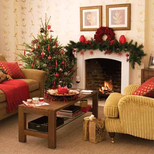 Christmas Ideas: Christmas Interior Decorating Ideas