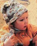 Детская шапочка. Вязание спицами