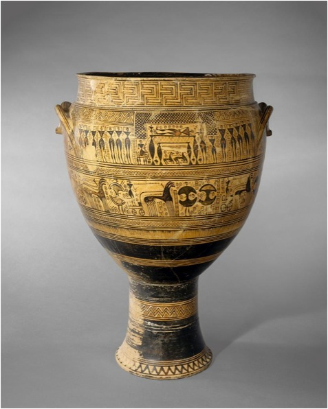 Monica S Art History Blog Funerary Krater