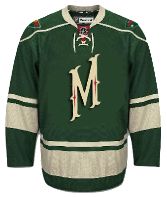 Here is concept from Glen Cuthbert. He took the current 3rd jersey and made  a few changes. The Minnesota script is replaced by the M logo 197025b99