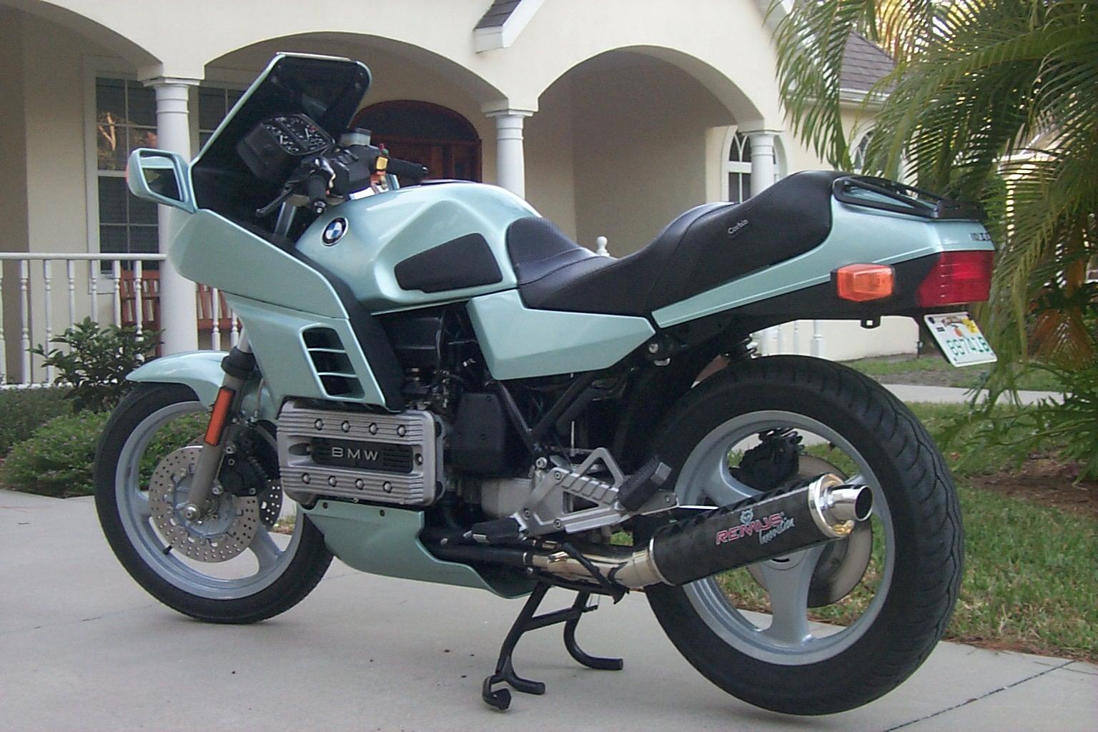 Retro Motorcycle Blog  1985 Bmw K100rs