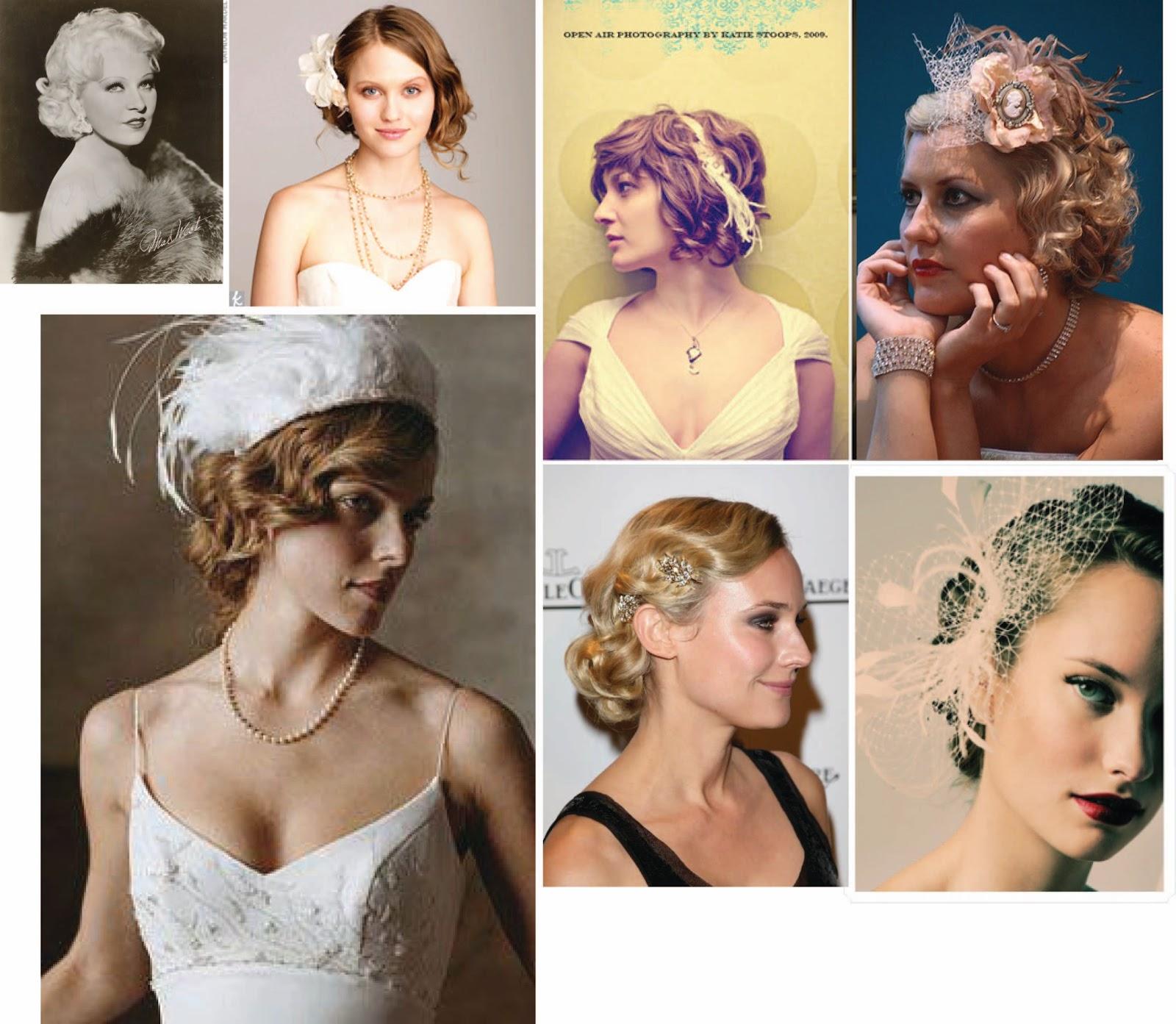 Bridezilla To Be Becky: Vintage Inspired Bridal Hair Styles