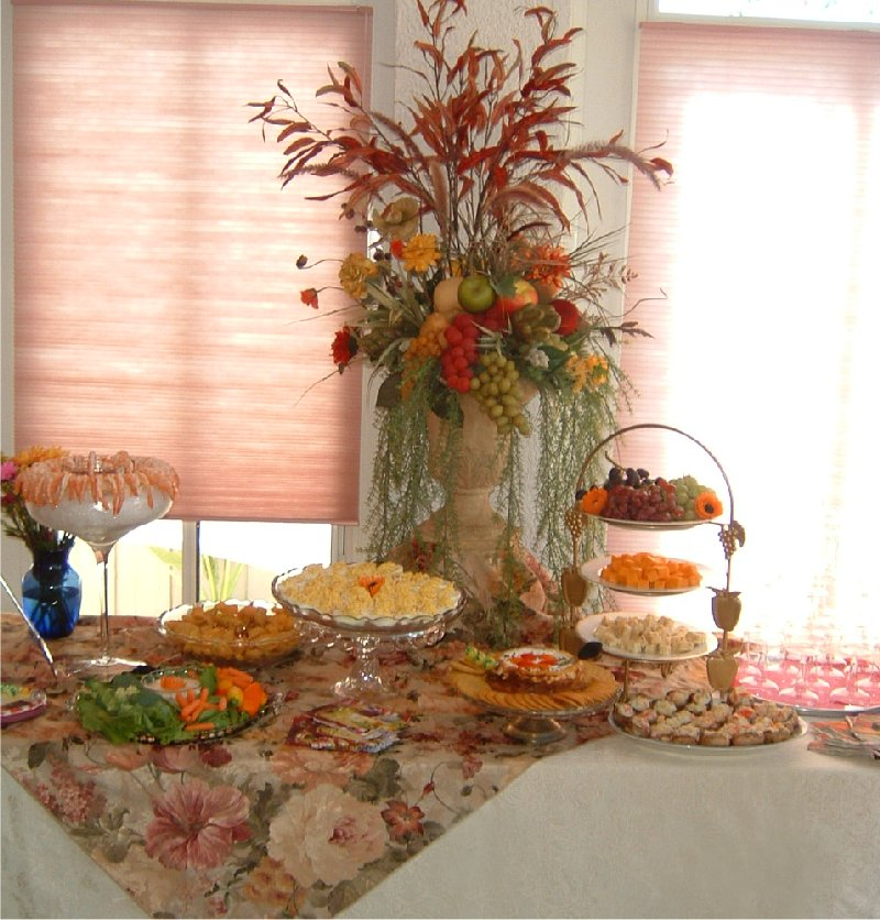 Fall Themed Party Table