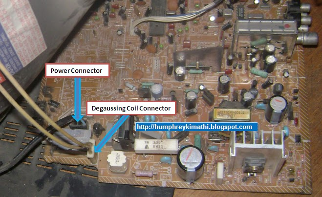 electronics repair made easy: How to troubleshoot CRT Television switch mode power supply