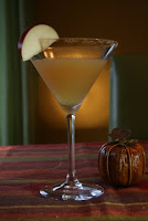 Spice Apple martini