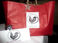 Sport Hill Farm gift bags