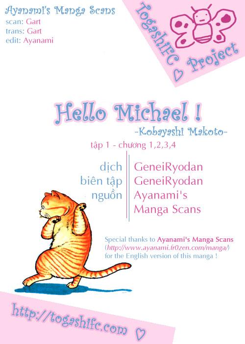 Hello Michael! 1 trang 1