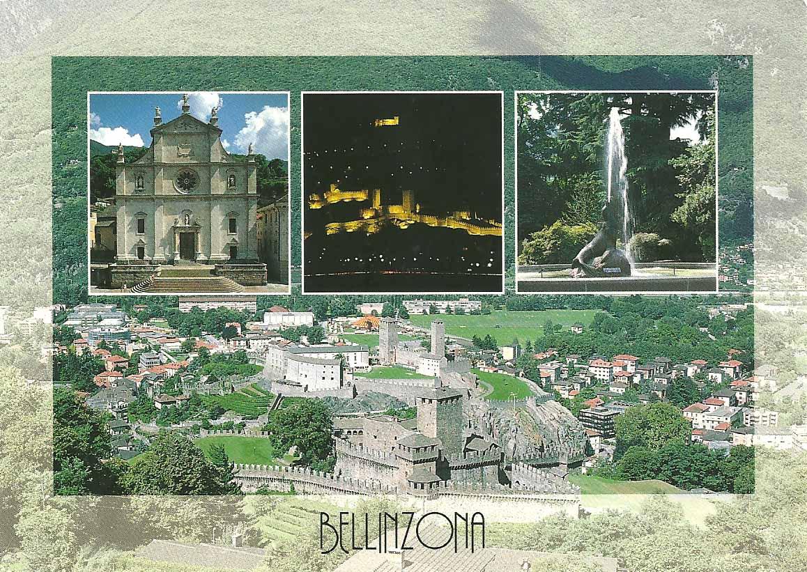Postcard diary bellinzona switzerland - Bagno pubblico bellinzona ...