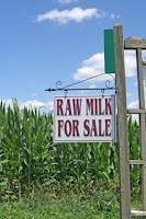 Raw milk for sale