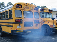 School bus fumes
