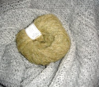 Cozy, warm wool binkie