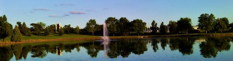 Greenhaven Golf Course Anoka par 5 lake hole pond par five
