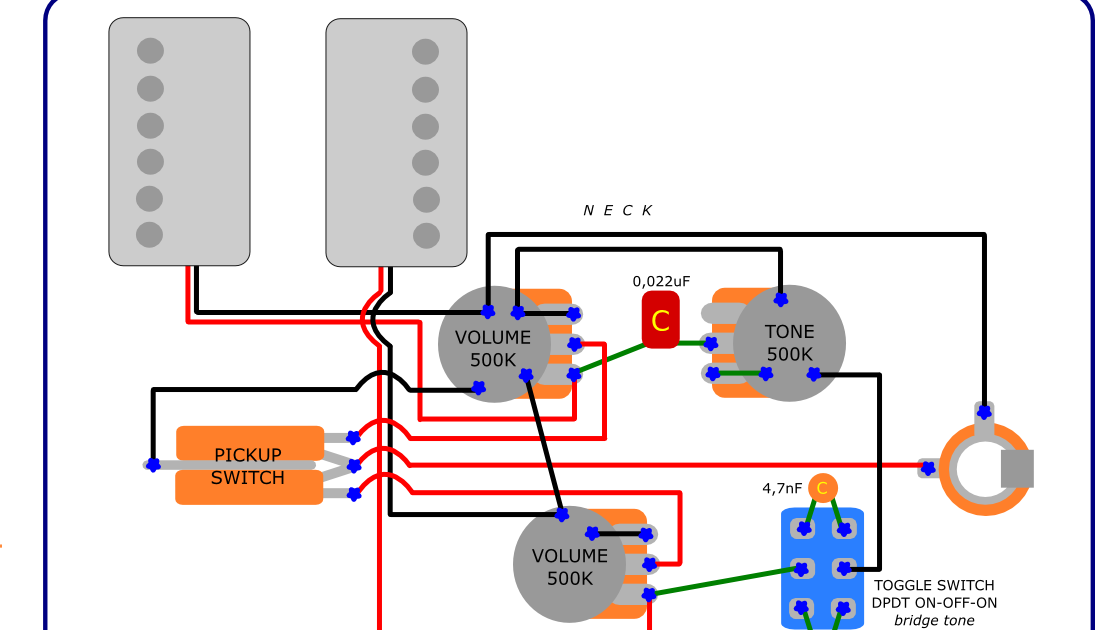 The Guitar Wiring Blog  diagrams and tips: Wiring Mod for