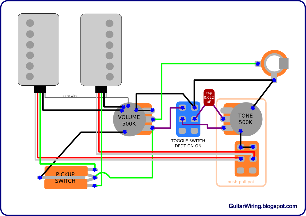 Guitar Pots Wiring Diagram Yamaha Blaster Stator The Blog - Diagrams And Tips: Schecter C-1 Solo Mod