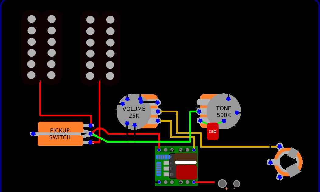 Active Pickup Wiring
