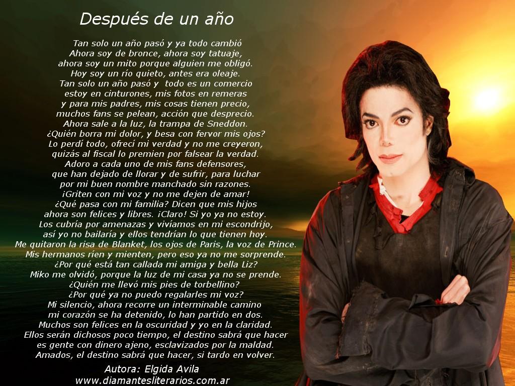El Enigma De La Muerte De Michael Jackson Poema De La