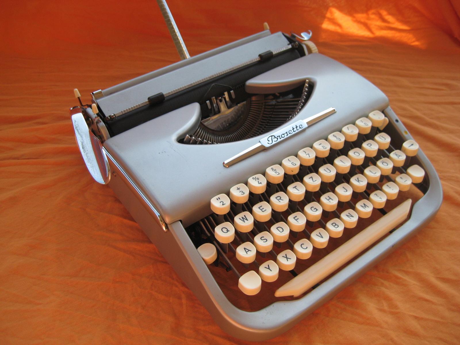 Manual Typewriter Diagram Paslode F350s Parts Retro Tech Geneva Ephemera Brosette