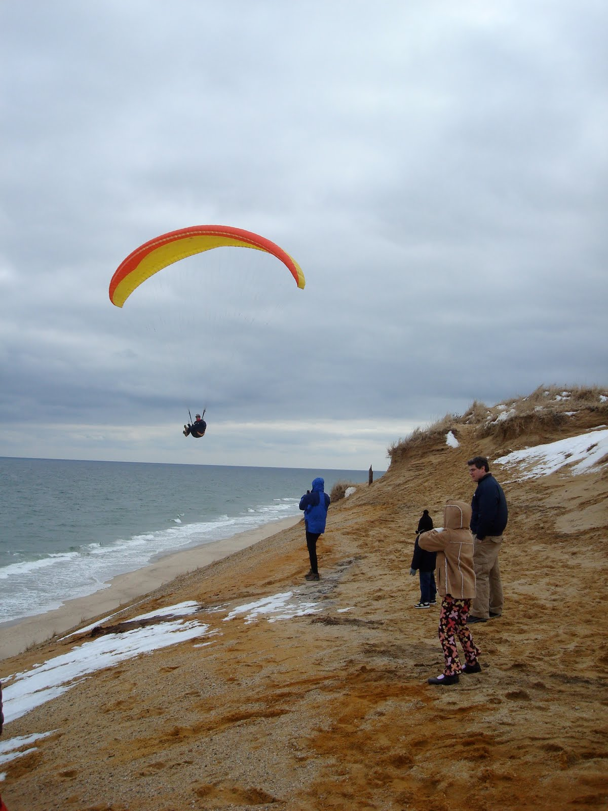 Literary Crushes/Grave Matters: Paragliding (Maybe someday)