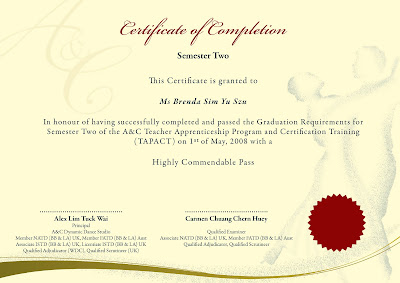 Sample Of On The Job Training Certificate Template