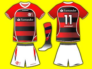 Camisas de Futebol  Flamengo Winner 2009 f98eda63680be