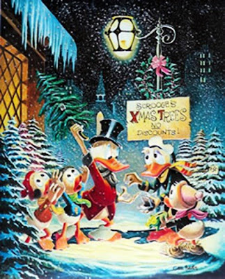 Scrooge Mcduck Christmas.Crooge Mcduck Money Bin Merry Christmas