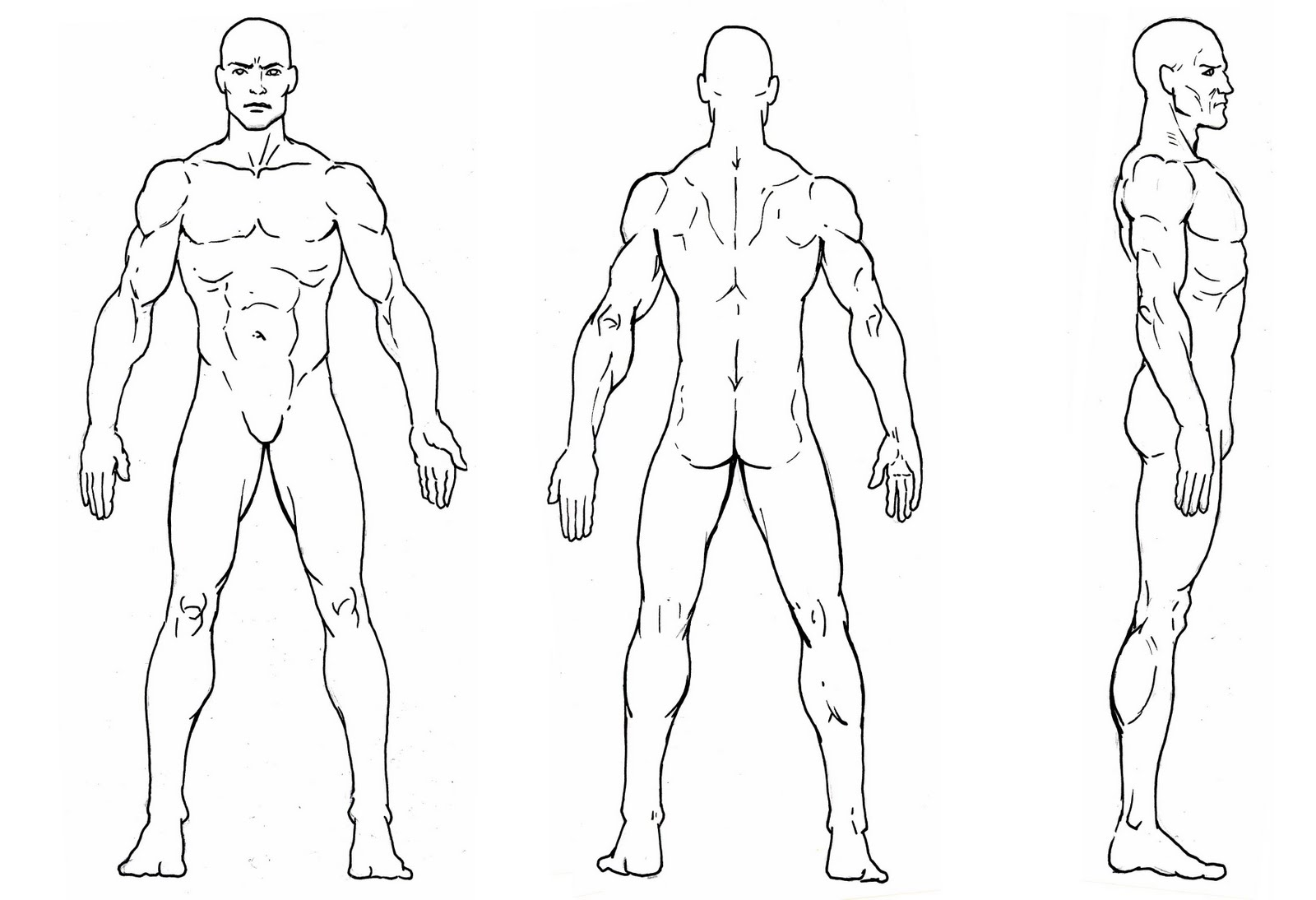 male character reference - photo #7