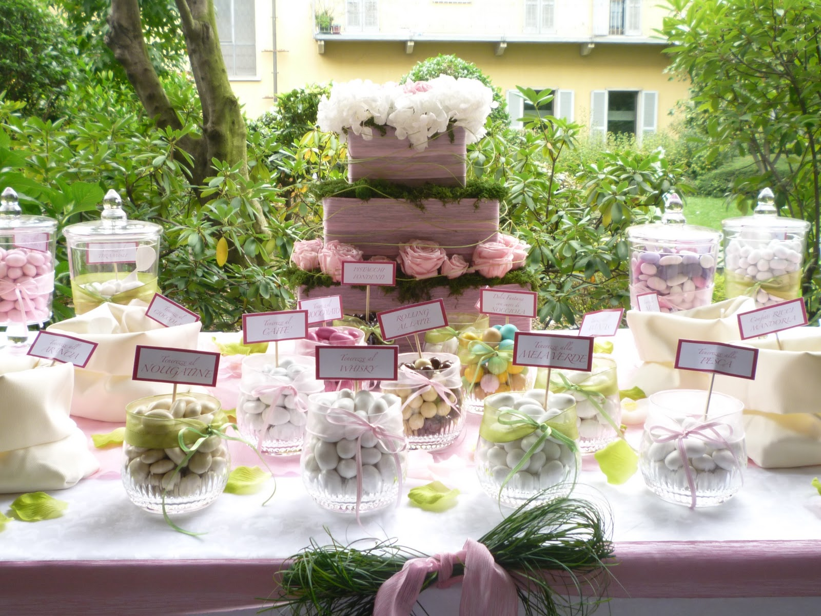 Chiacchiere da Matrimonio: Tavolo della confettata