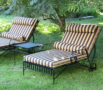 jordan manufacturing outdoor patio wrought iron chair cushion gaming bean bag with speakers liberty post handmade heirloom anvil furniture