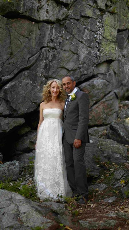 LIBERTY POST Suzanne Dimmas Cottage Wedding