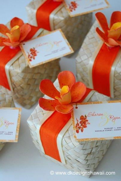 Eco Friendly Market Hawaiian Weddings Lauhala Boxes