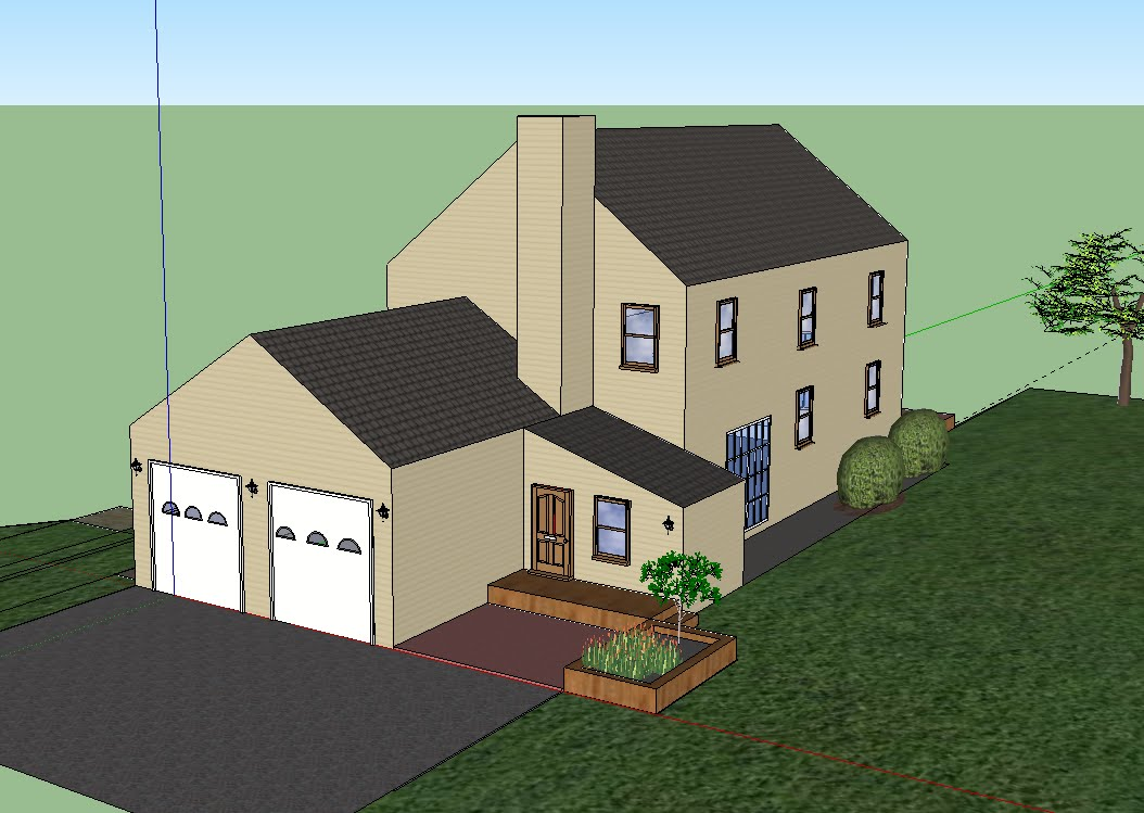 Architecture Update on SketchUp House