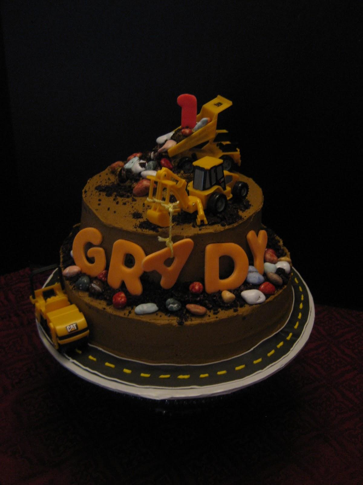 Ashlynn Leigh Cakes Construction Cake