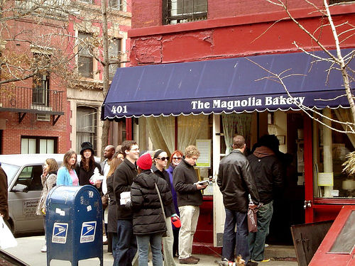 How a sex and the city cameo for the west village's magnolia bakery launched a cupcake empire