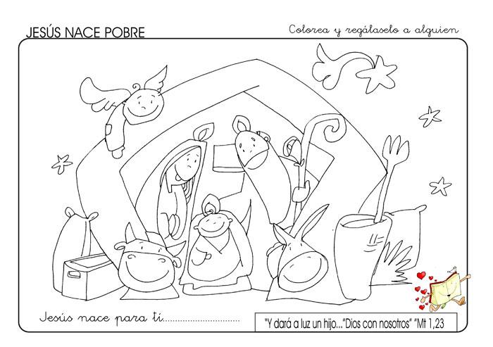 Resultado de imagen para Natividad del Señor-Ciclo A para colorear