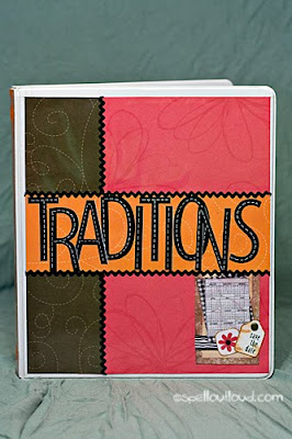 Family Traditions Notebook