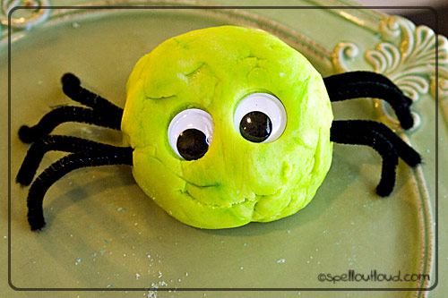 Play-Doh Spider