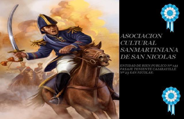 Asociacion Cultural Sanmartiniana De San Nicolas Frases Del