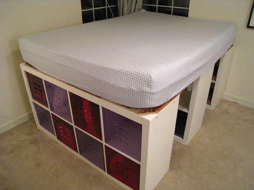 Storage Glee Diy Bed Frame