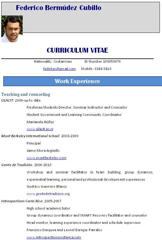 Tag Como Hacer Curriculum Vitae Estudiante Universitario