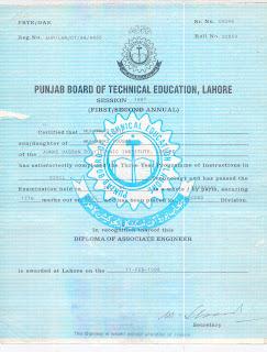 Muhammad Asif Profile Diploma Of Associate Engineer Amp Metric