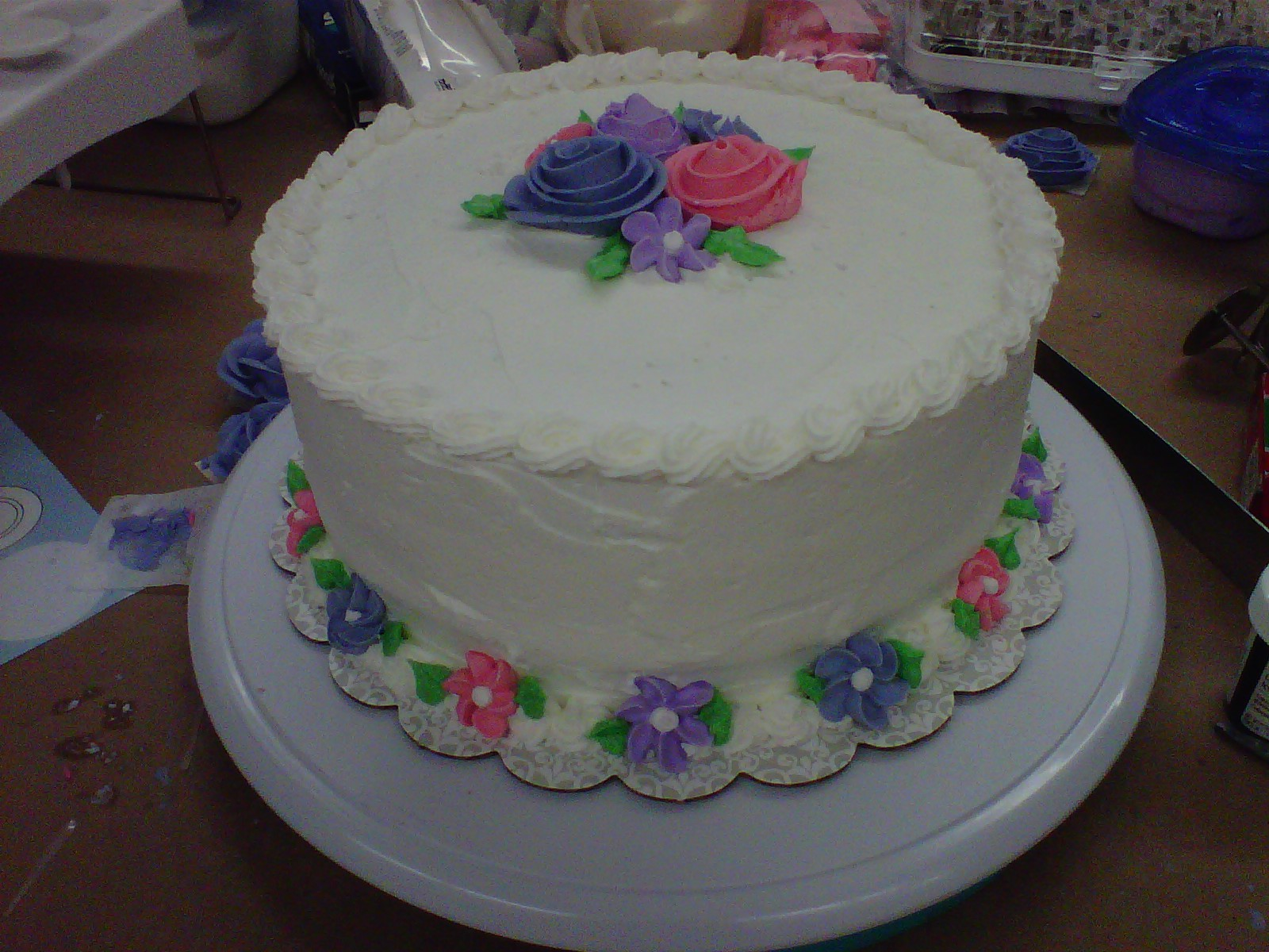 The Sweet Fairy Cake In English: To My Gradma, With Love