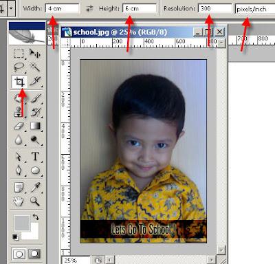 Cara membuat foto 2×3, 3×4 dengan photoshop « Librarian Blogs …….
